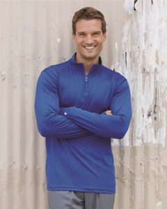 Badger 4280 - Poly/Spandex 1/4 Zip Lightweight Pullover