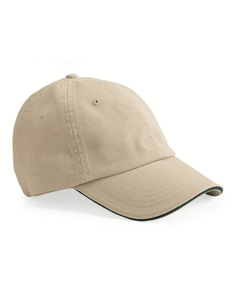 Bayside 3617 - USA-Made Unstructured Twill Cap