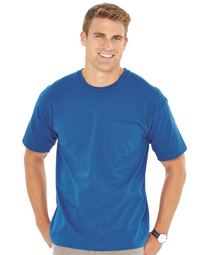 Bayside 5070 - USA-Made Short Sleeve T-Shirt With a Pocket