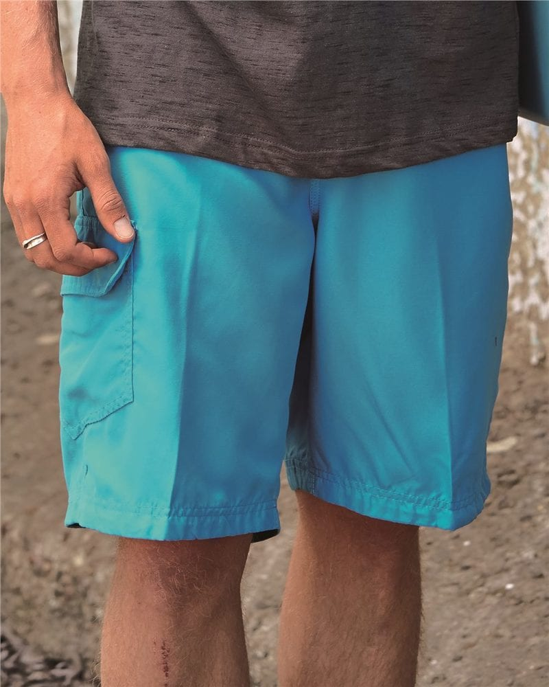 Burnside B9301 - Solid Board Shorts