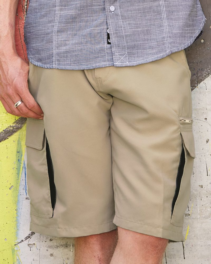 Burnside B9803 - Microfiber Shorts