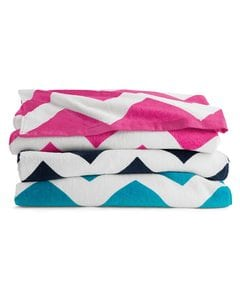 Carmel Towel Company C3060X - Chevron Velour Beach Towel