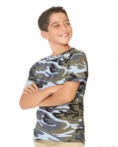 Code V 2206 - Youth Camouflage T-Shirt