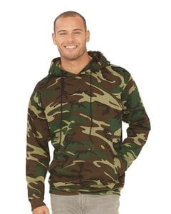 Code V 3969 - Camouflage Pullover Hooded Sweatshirt