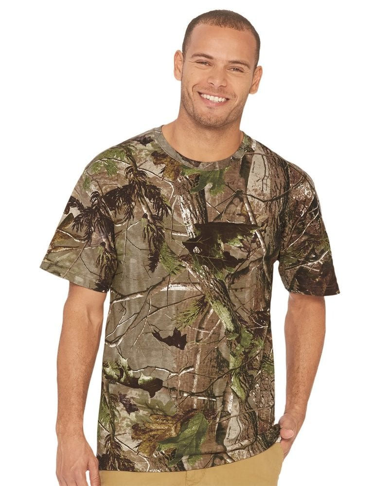 0039261a Code V 3980 - Realtree® Camouflage Short Sleeve T-Shirt | Needen USA