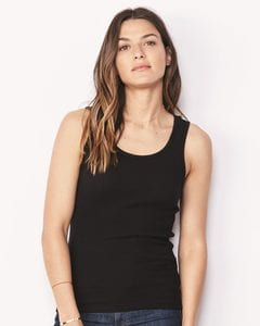 Bella+Canvas 4000 - Womens 2x1 Rib Tank