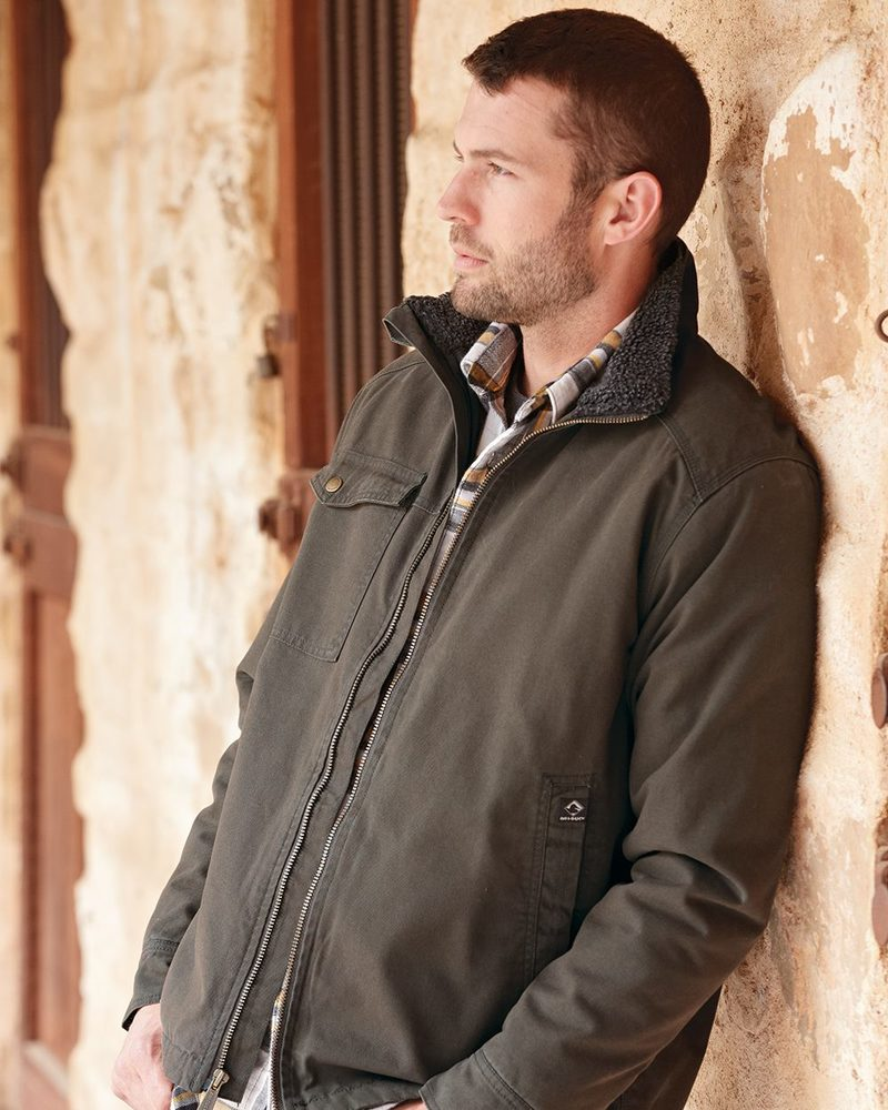 DRI DUCK 5037 - Endeavor Canyon Cloth Canvas Jacket with Sherpa Lining