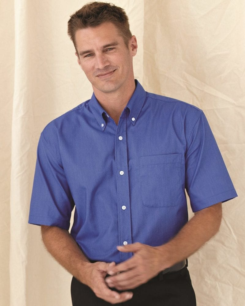 FeatherLite 0231 - Short Sleeve Stain Resistant Oxford Shirt