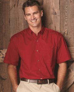 FeatherLite 0281 - Short Sleeve Stain-Resistant Twill Shirt
