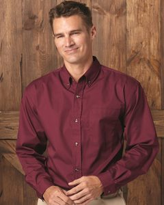 FeatherLite 3281 - Long Sleeve Stain-Resistant Twill Shirt