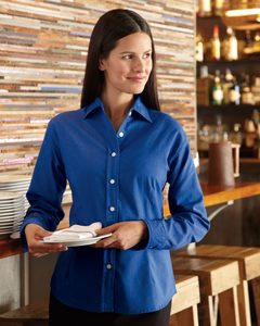 FeatherLite 5233 - Ladies Long Sleeve Stain Resistant Oxford Shirt