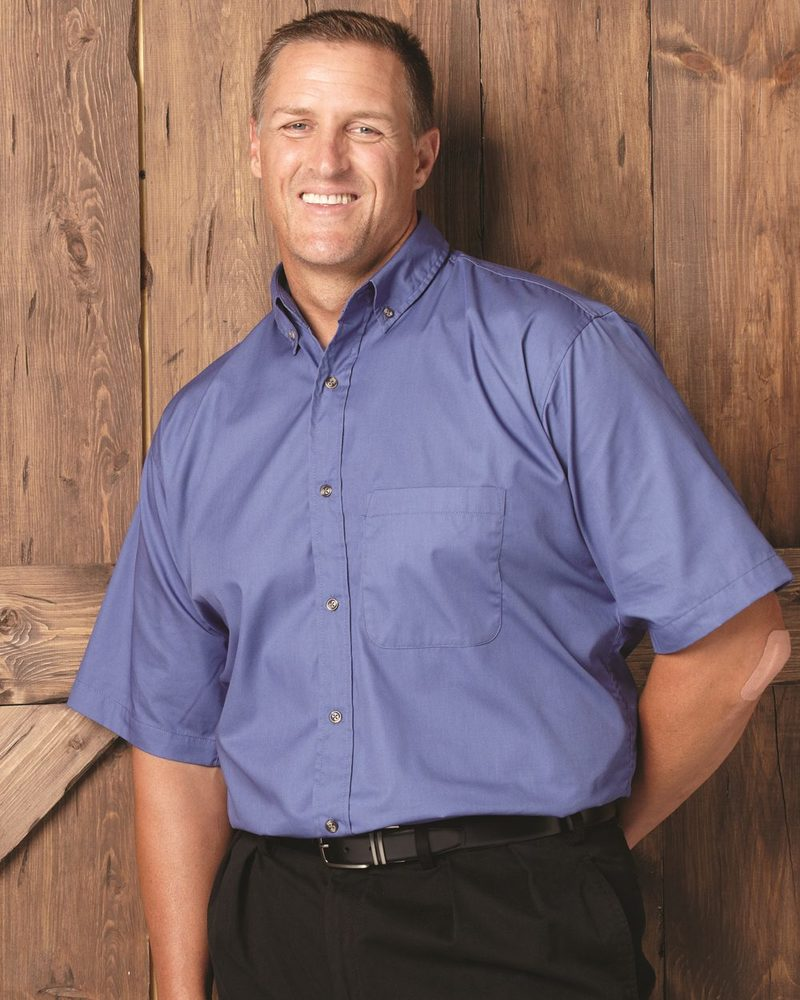 FeatherLite 6281 - Short Sleeve Twill Shirt Tall Sizes