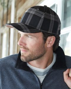 Flexfit 6197 - Casquette Flexfit plaid tartan