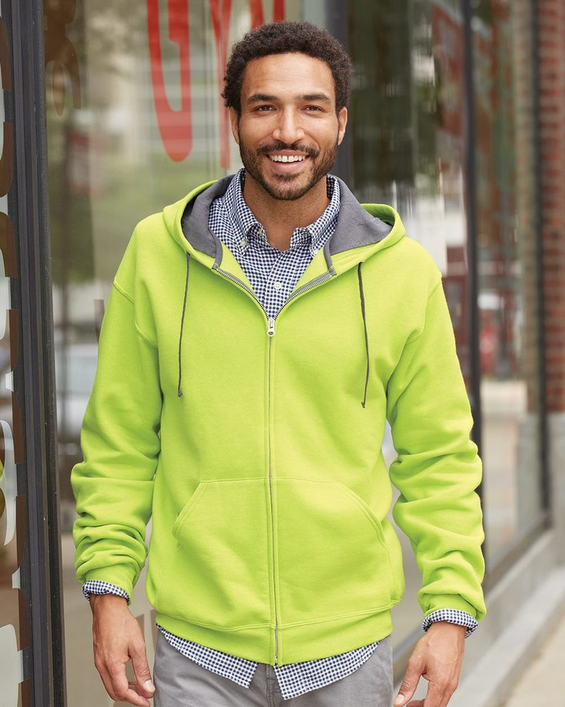 Fruit of the Loom SF73R - SofSpun Hooded Full-Zip Sweatshirt
