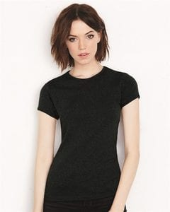 Bella+Canvas 1001 - Ladies Baby Rib Short Sleeve T-Shirt