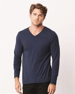 Bella+Canvas 3425 - Long Sleeve V-Neck T-Shirt