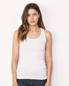Bella+Canvas 4070 - Ladies 2×1 Rib Racerback Longer Length Tank