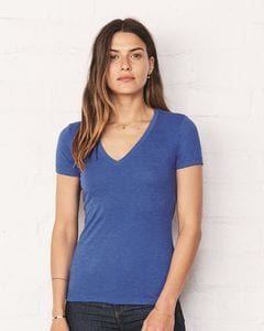 Bella+Canvas 8435 - Ladies Triblend Deep V-Neck T-Shirt