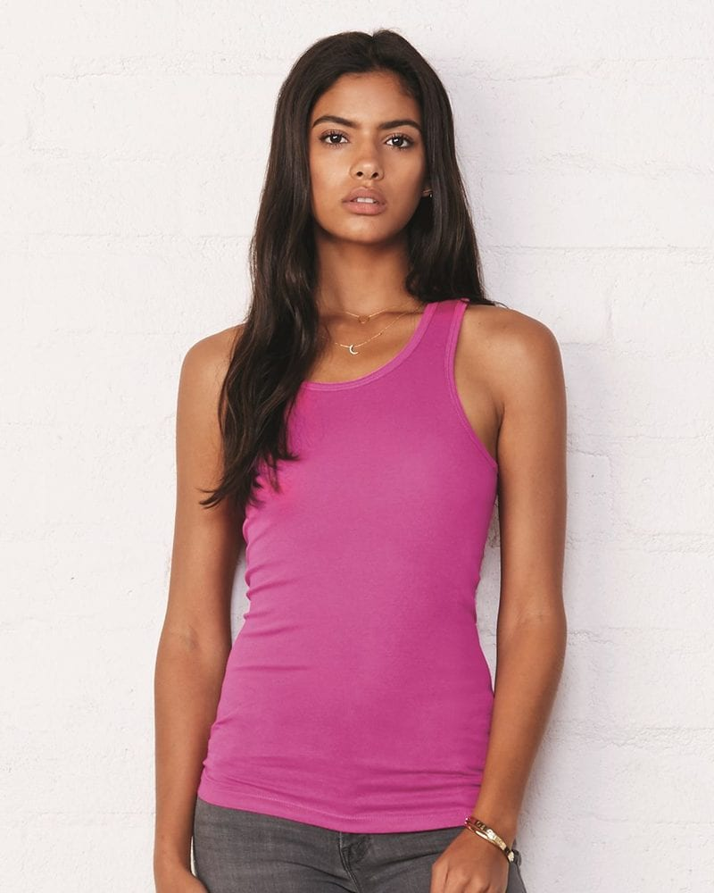 Bella+Canvas 8770 - Ladies' Sheer Mini Rib Racerback Tank