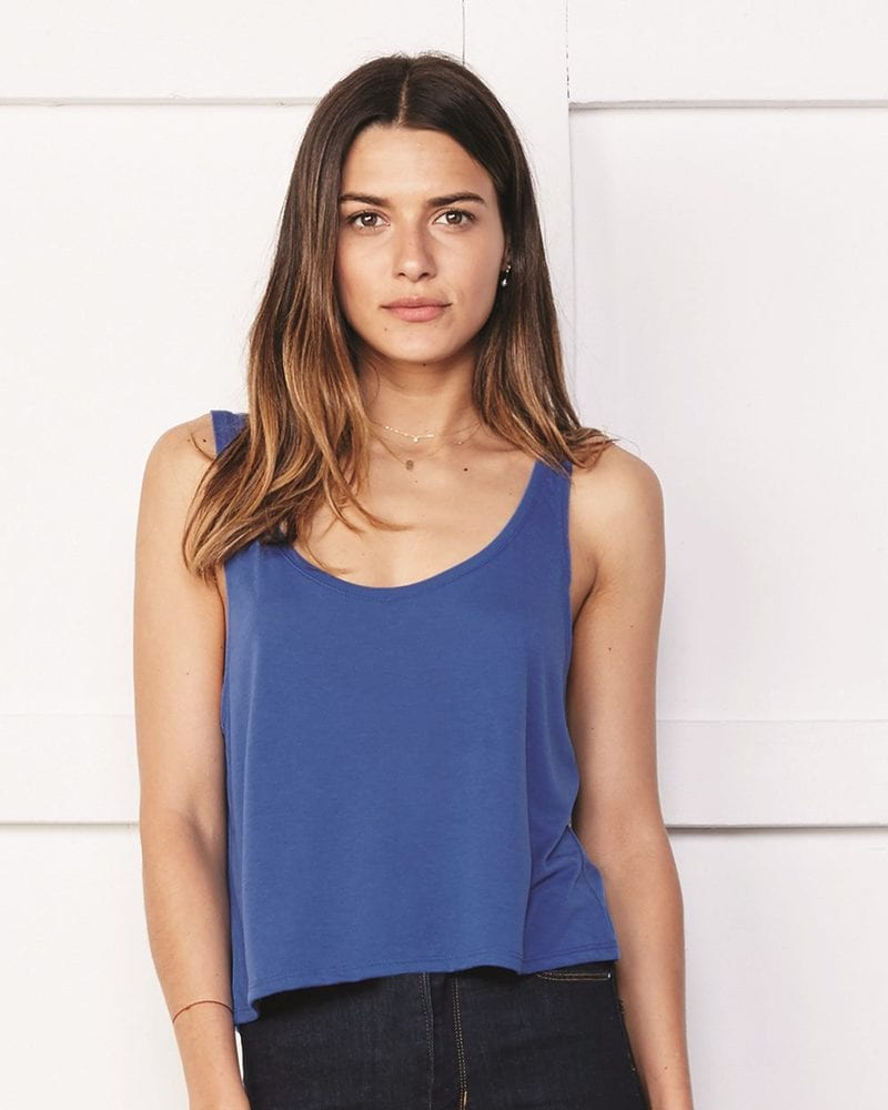 Bella+Canvas 8880 - Ladies' Flowy Boxy Tank