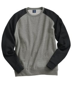 Independent Trading Co. IND30RC - Fitted Raglan Crewneck Sweatshirt