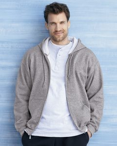 Gildan 12600 - DryBlend® Hooded Full-Zip Sweatshirt