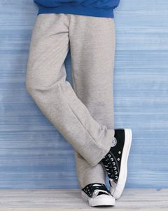 Gildan 18400B - Youth Heavy Blend™ Open Bottom Sweatpants