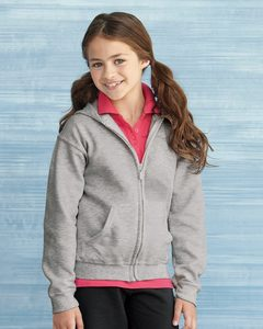 Gildan 18600B - Heavy Blend™ Youth Full-Zip Hooded Sweatshirt