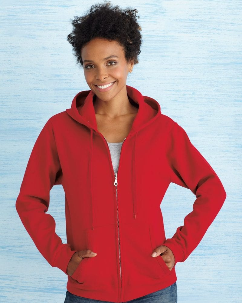 Gildan 18600FL - Heavy Blend™ Missy Fit Full-Zip Hooded Sweatshirt