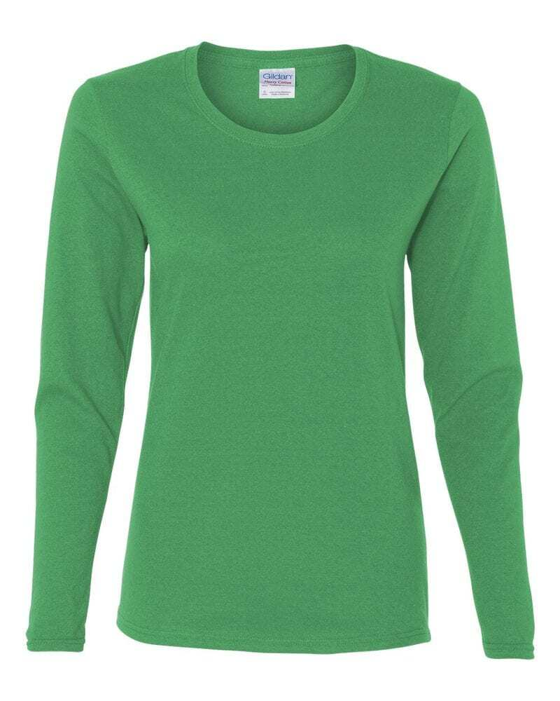 Gildan 5400L - Heavy Cotton Missy Fit Long Sleeve T-Shirt