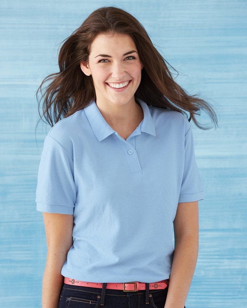 Gildan 72800L - Ladies' DryBlend Double Pique Sport Shirt