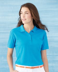 Gildan 82800L - Ladies Premium Cotton Double Pique Sport Shirt