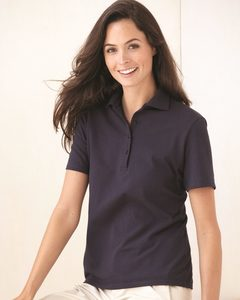 Hanes 035X - Ladies Cotton Pique Sport Shirt