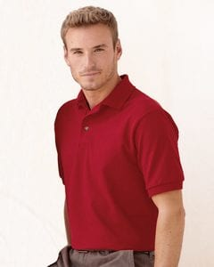 Hanes 055X - Cotton Pique Sport Shirt
