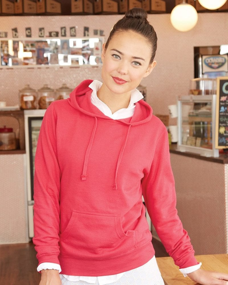 Independent Trading Co. SS650 - Women's Lightweight Hooded Pullover Fleece