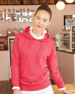 Independent Trading Co. SS650 - Womens Lightweight Hooded Pullover Fleece