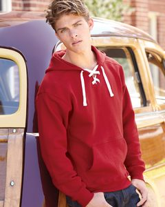 J. America 8830 - Sport Lace Hooded Sweatshirt