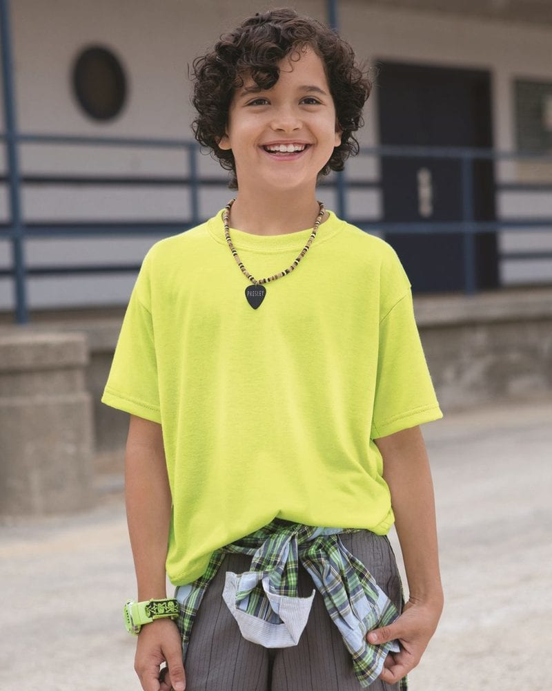 JERZEES 21BR - Youth 100% Polyester Short Sleeve T-Shirt