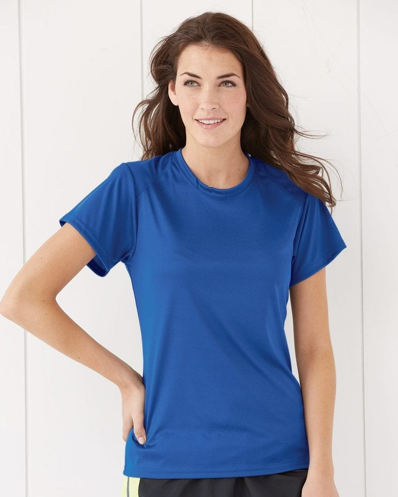 JERZEES 21WR - Ladies' 100% Poly Short Sleeve T-Shirt