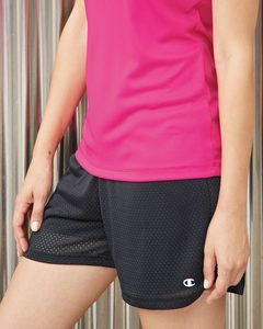 Champion CA33 - Ladies Tagless Active Mesh Shorts