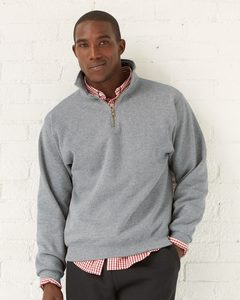 JERZEES 4528MR - NuBlend® SUPER SWEATS® Quarter-Zip Pullover Sweatshirt