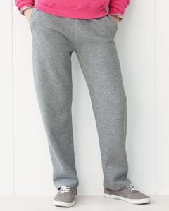 JERZEES 974YPR - Nublend® Youth 50/50 Open Bottom Sweatpants