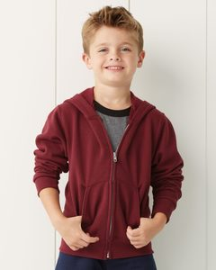 JERZEES 993BR - NuBlend® Youth Full-Zip Hooded Sweatshirt