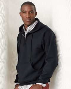 JERZEES 994MR - Quarter-Zip Hooded Pullover