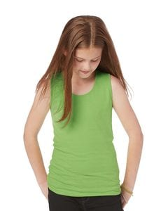 LAT 2690 - Girls Fine Jersey Tank Top