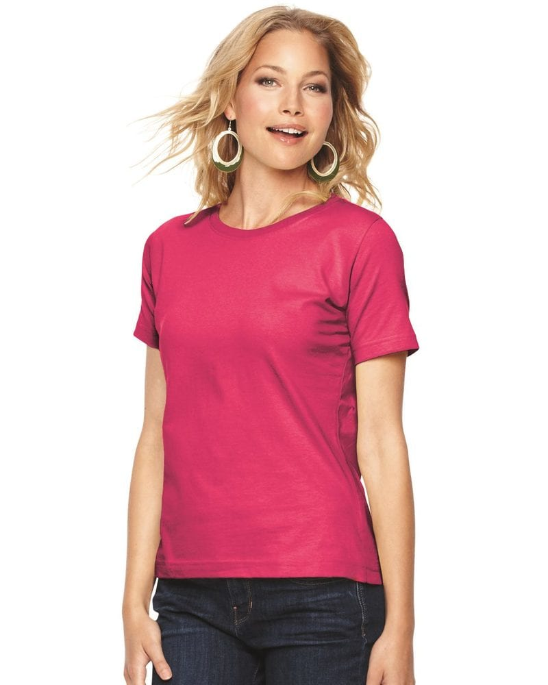 LAT 3580 - Ladies' Short Sleeve CrewneckT-Shirt