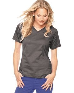 LAT 3587 - Ladies Short Sleeve V-Neck T-Shirt
