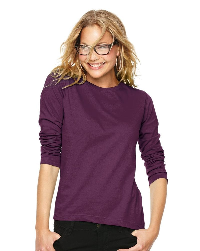 LAT 3588 - Ladies' Long Sleeve Crewneck T-Shirt
