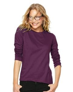 LAT 3588 - Ladies Long Sleeve Crewneck T-Shirt