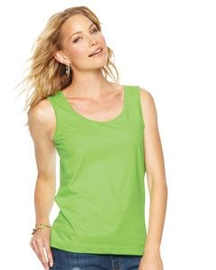 LAT 3590 - Ladies Scoopneck Tank Top
